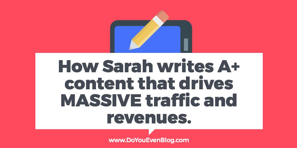 Sarah Peterson blog Do You Even Blog Podcast 4