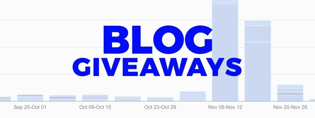 How to run a crazy successful blog giveaway [case study]