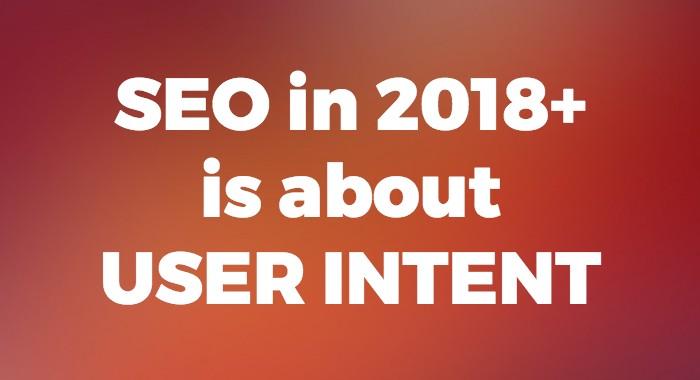 seo user intent