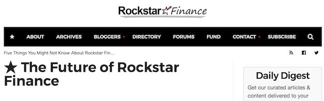 selling rockstar finance