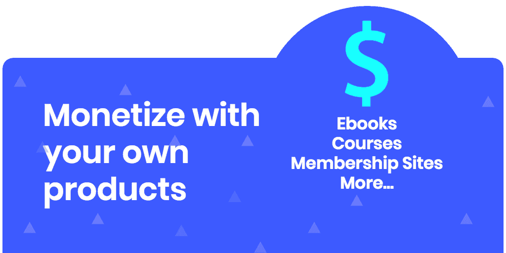 monetize a blog with products banner