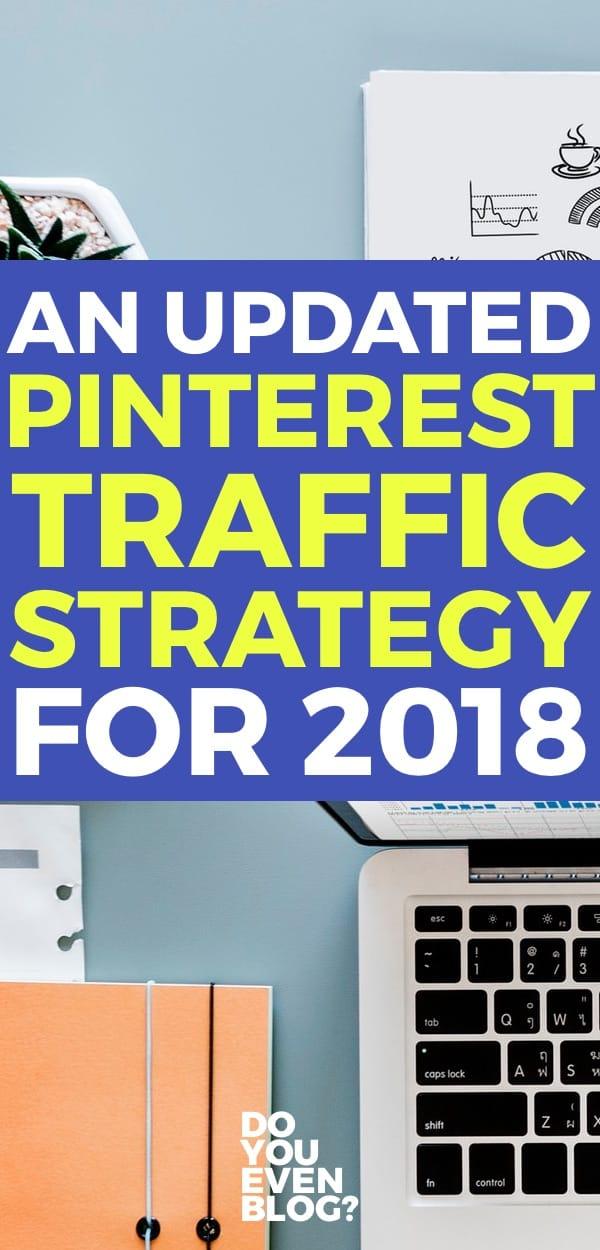 pinterest traffic strategy 2018