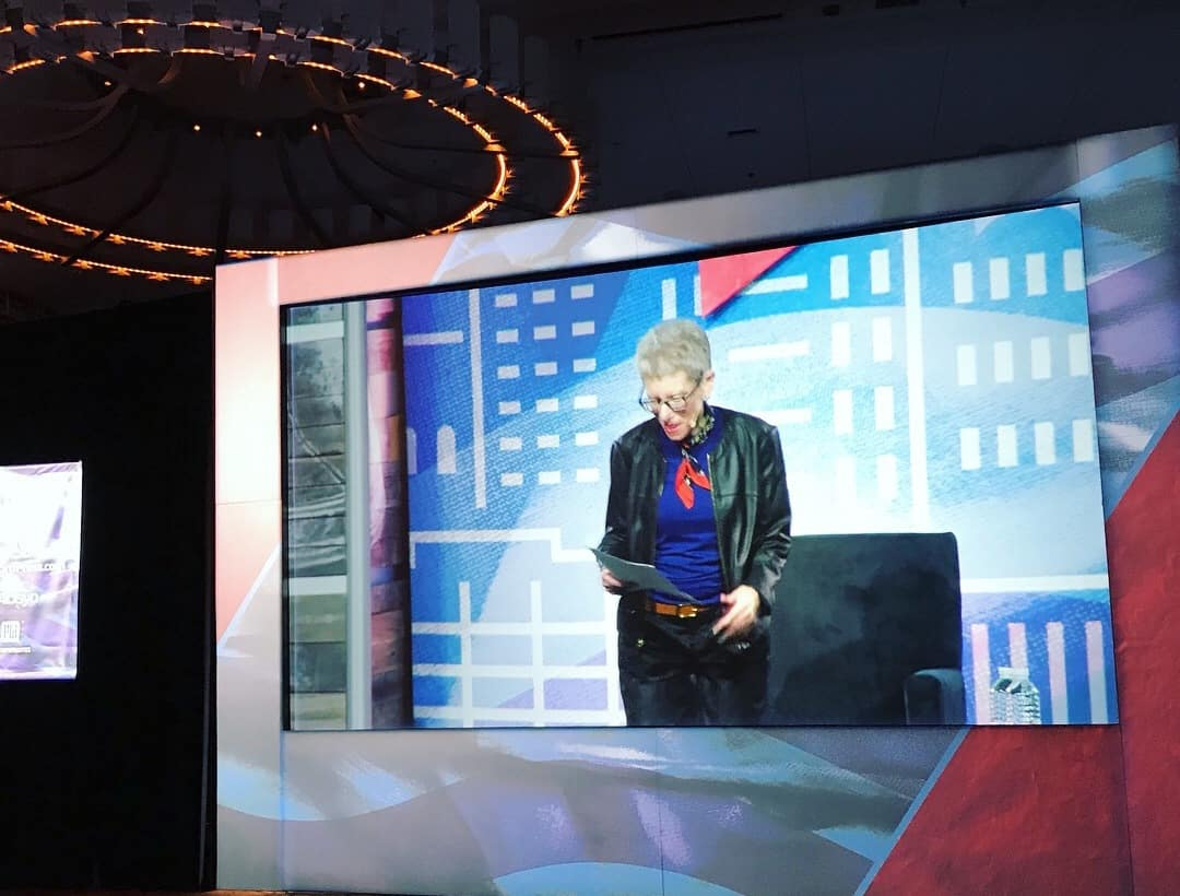 Terry Gross at podcast movement