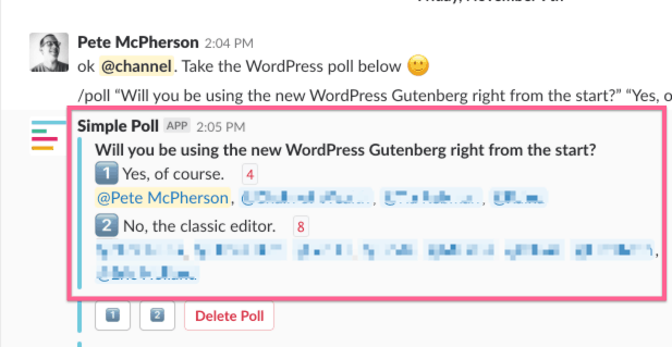 will you be using Gutenberg?