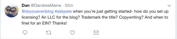 blog legal entity
